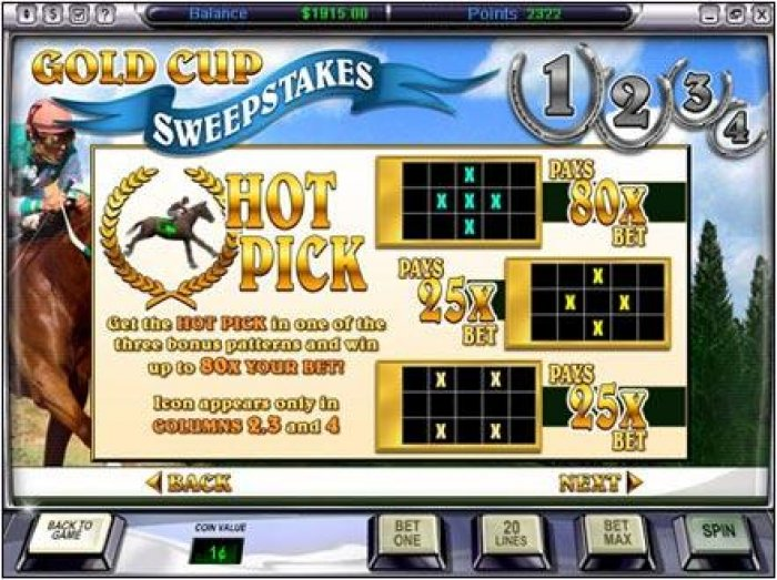 Gold Cup by All Online Pokies