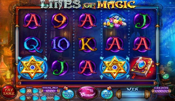 lines of Magic screenshot