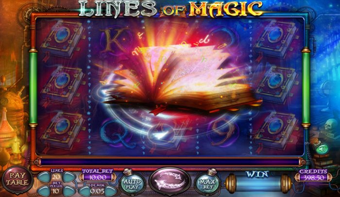 Images of lines of Magic