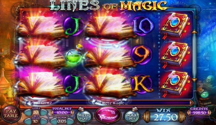 Multiple winning paylines triggers a big win by All Online Pokies