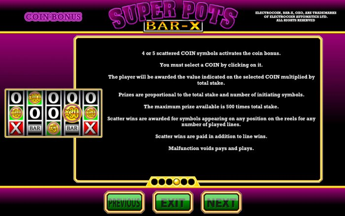 Feature Rules - All Online Pokies
