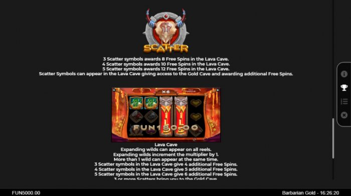 Barbarian Gold by All Online Pokies