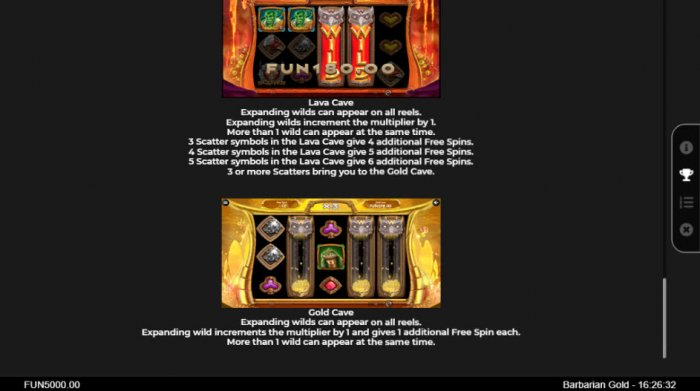 All Online Pokies image of Barbarian Gold