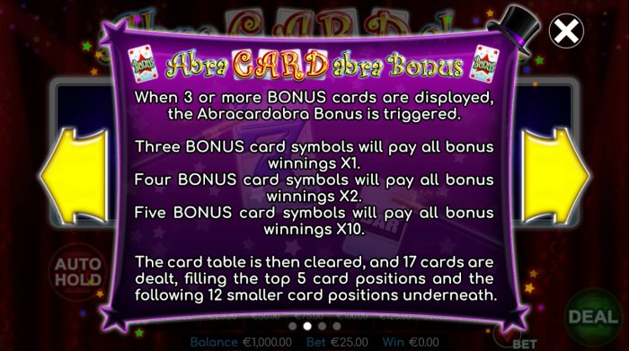 All Online Pokies image of Abracardabra!