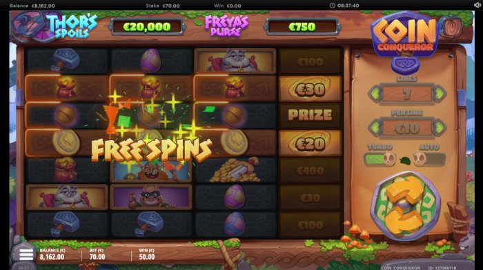 All Online Pokies image of Coin Conquer