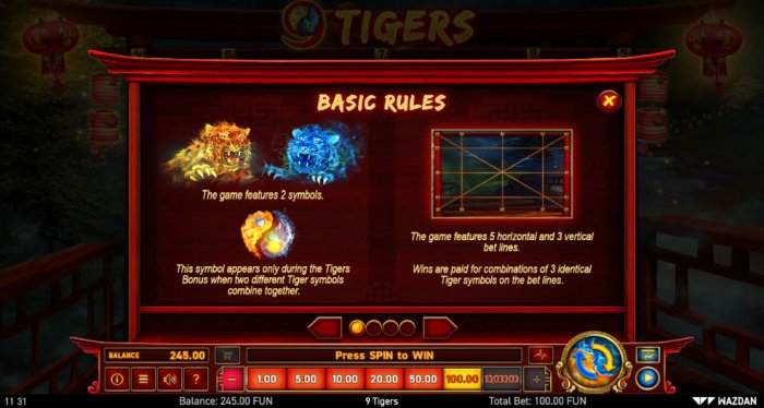 Basic Game Rules - All Online Pokies