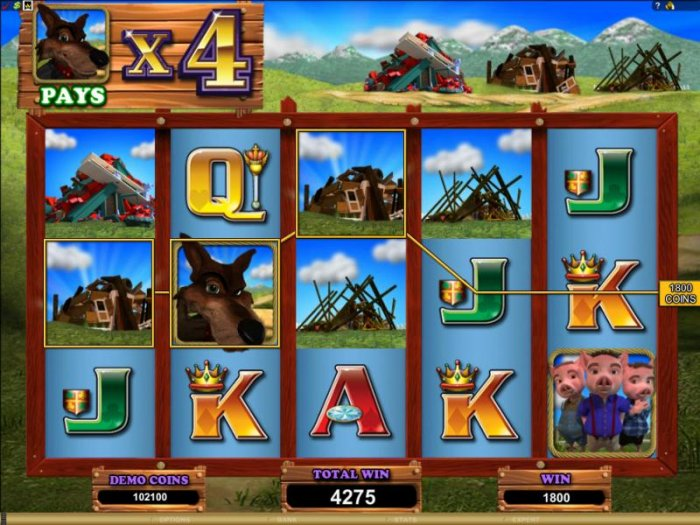bonus feature pays out an 1800 coin big win by All Online Pokies