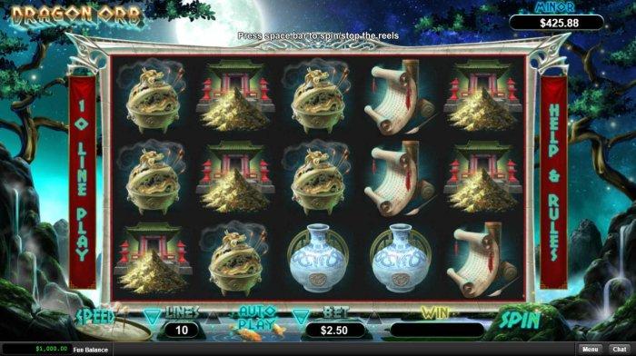Dragon Orb screenshot
