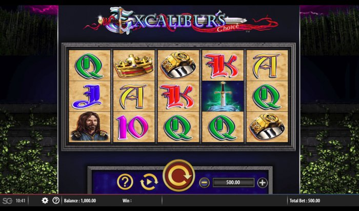 Excalibur's Choice by All Online Pokies