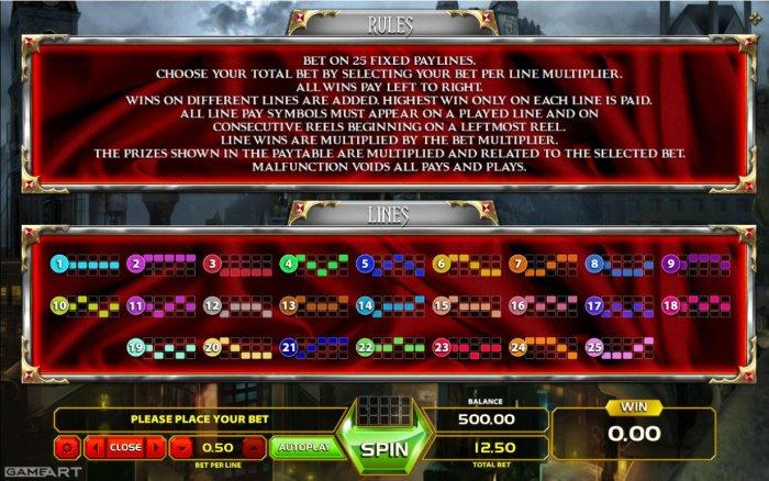 Castle Blood by All Online Pokies