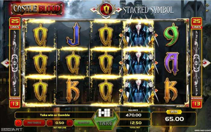All Online Pokies - Multiple winning paylines triggers a 65.00 win!