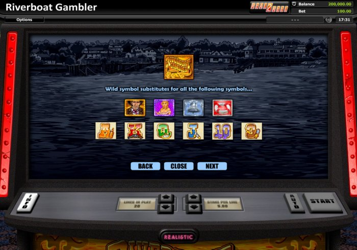 Riverboat Gambler by All Online Pokies