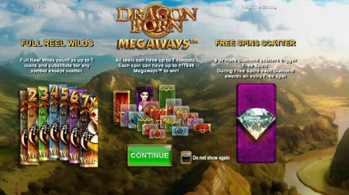 All Online Pokies - game features include - Full Reel Wilds, Megaways and Free Spins Scatter