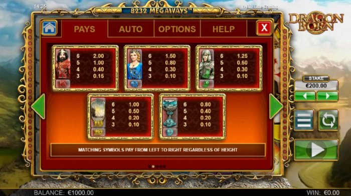 All Online Pokies - Low value pokie game symbols paytable. Matching symbols pay from left to right regardless of height.