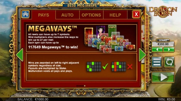 Dragon Born by All Online Pokies