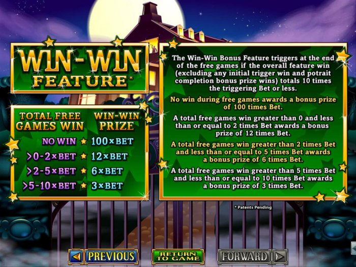 Win-Win Feature Rules - All Online Pokies