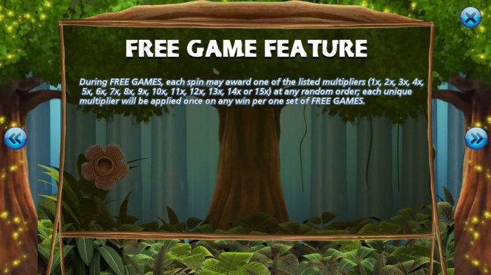 The primeval Rainforest screenshot