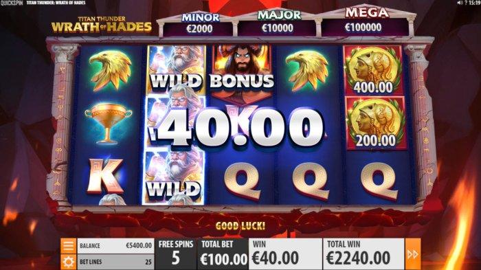 Titan Thunder Wrath of Hades screenshot
