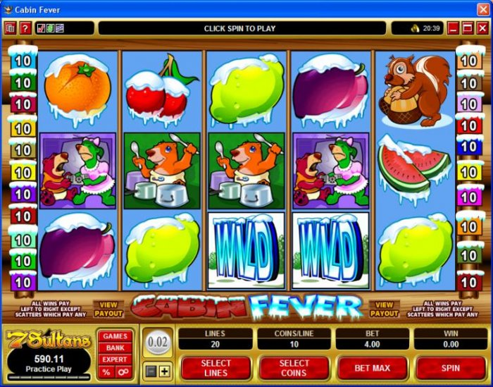 All Online Pokies image of Cabin Fever