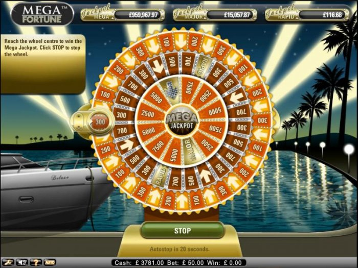 All Online Pokies image of Mega Fortune