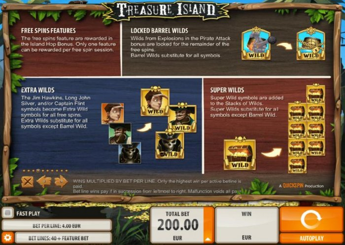 All Online Pokies - Free Spins Features, Locked Barrel Wilds, Extra Wilds and Super Wilds