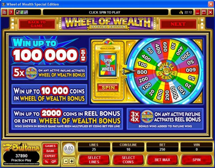 Images of Wheel of Wealth Special Edition