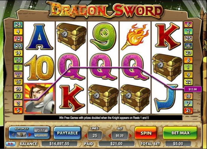 Dragon Sword by All Online Pokies
