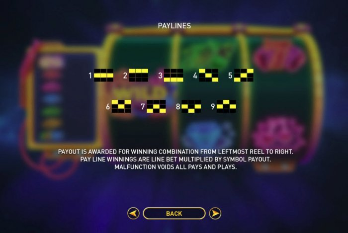 All Online Pokies image of Space Neon