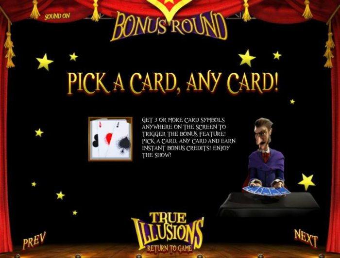 True Illusions 3D by All Online Pokies