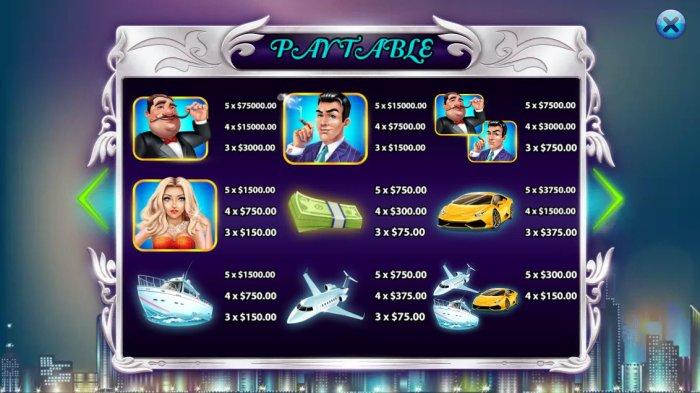 All Online Pokies image of Millionaires