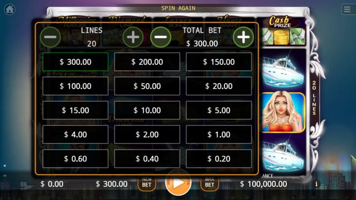 Millionaires by All Online Pokies