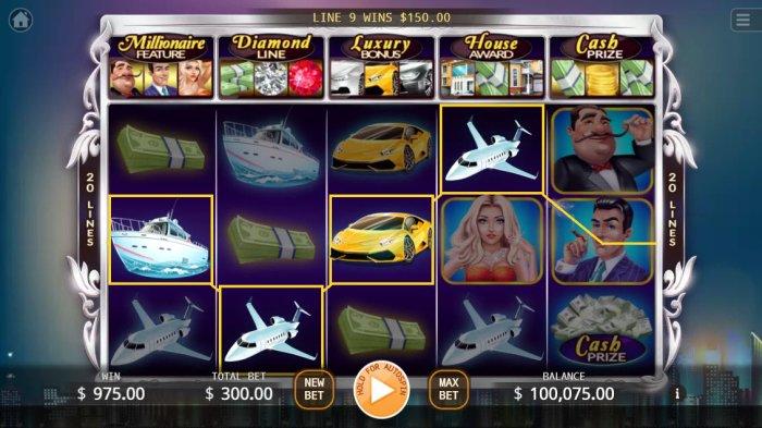 Millionaires screenshot
