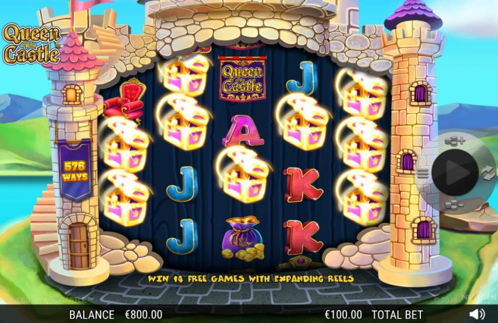 Queen of the Castle by All Online Pokies