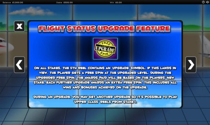 All Online Pokies - Flight Status Upgrade Feature Rules