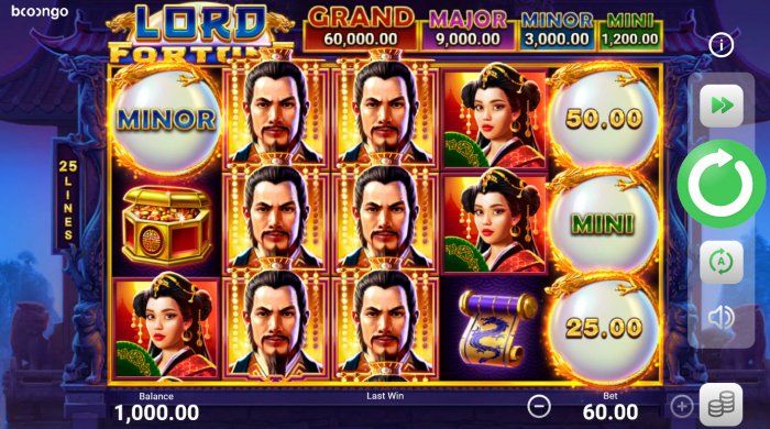 Lord Fortune Hold and Win by All Online Pokies