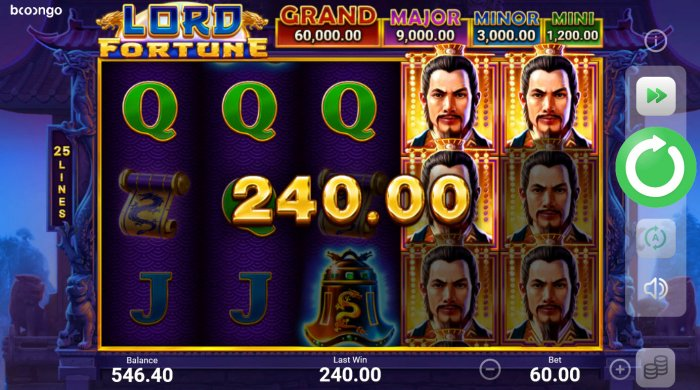 All Online Pokies image of Lord Fortune Hold and Win