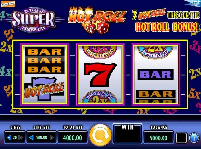 Hot Roll Super Times Pay screenshot