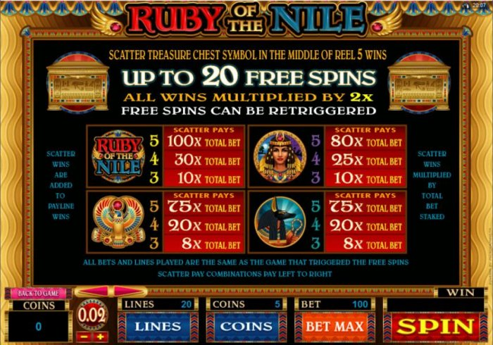 Scatter symbol rules and pays - All Online Pokies