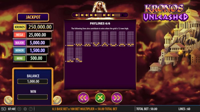 All Online Pokies - Feature Paylines