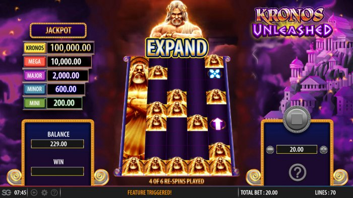 Kronos Unleashed by All Online Pokies