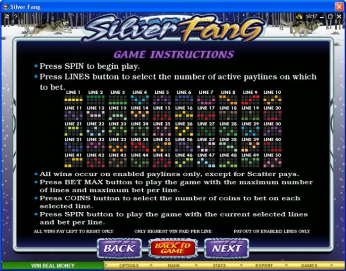 All Online Pokies image of Silver Fang