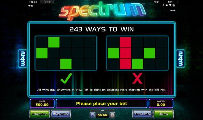 All Online Pokies image of Spectrum