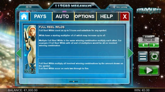 Starquest screenshot