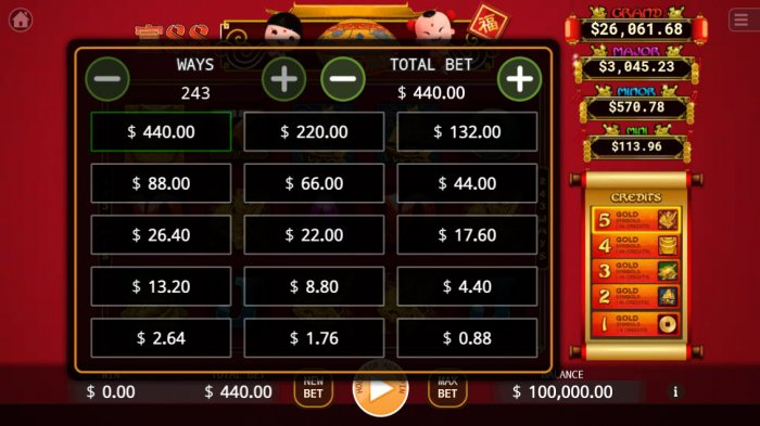 88 Riches by All Online Pokies