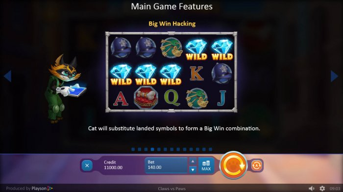 Claws vs Paws by All Online Pokies