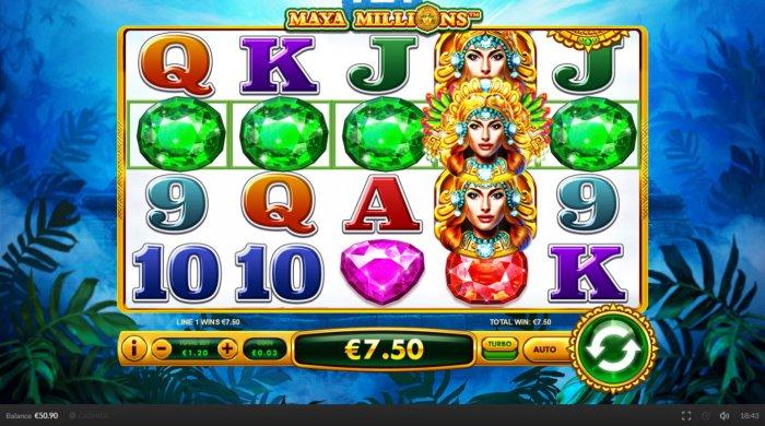 All Online Pokies image of Maya Millions